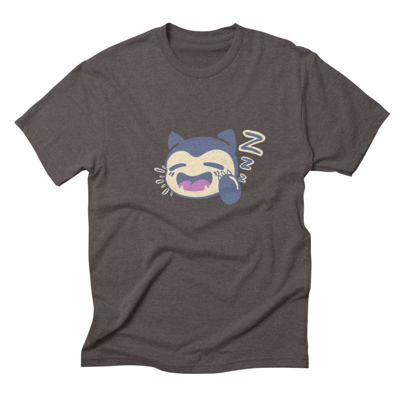 Sleepy Snorlax Men's Triblend T-Shirt by jaredslyterdesign's Artist Shop