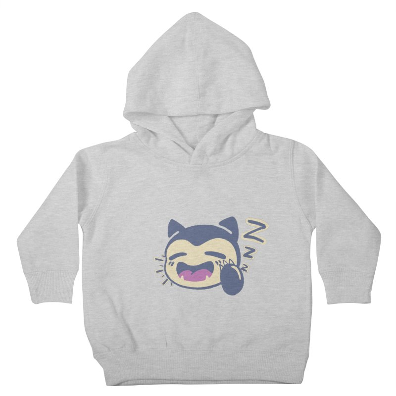 Sleepy Snorlax Kids Toddler Pullover Hoody by jaredslyterdesign's Artist Shop