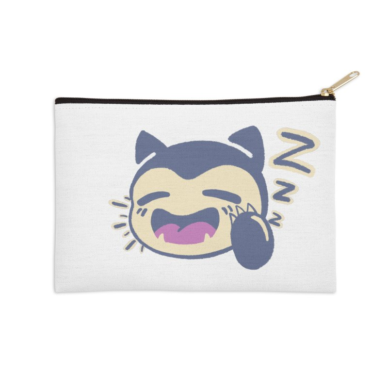 Sleepy Snorlax Accessories Zip Pouch by jaredslyterdesign's Artist Shop
