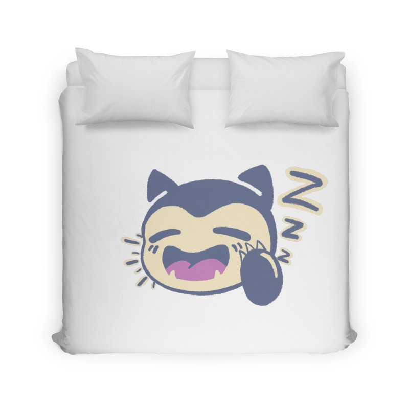 Sleepy Snorlax Home Duvet by jaredslyterdesign's Artist Shop