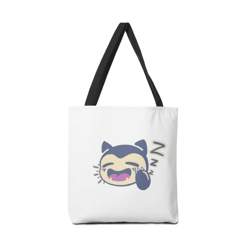 Sleepy Snorlax Accessories Bag by jaredslyterdesign's Artist Shop