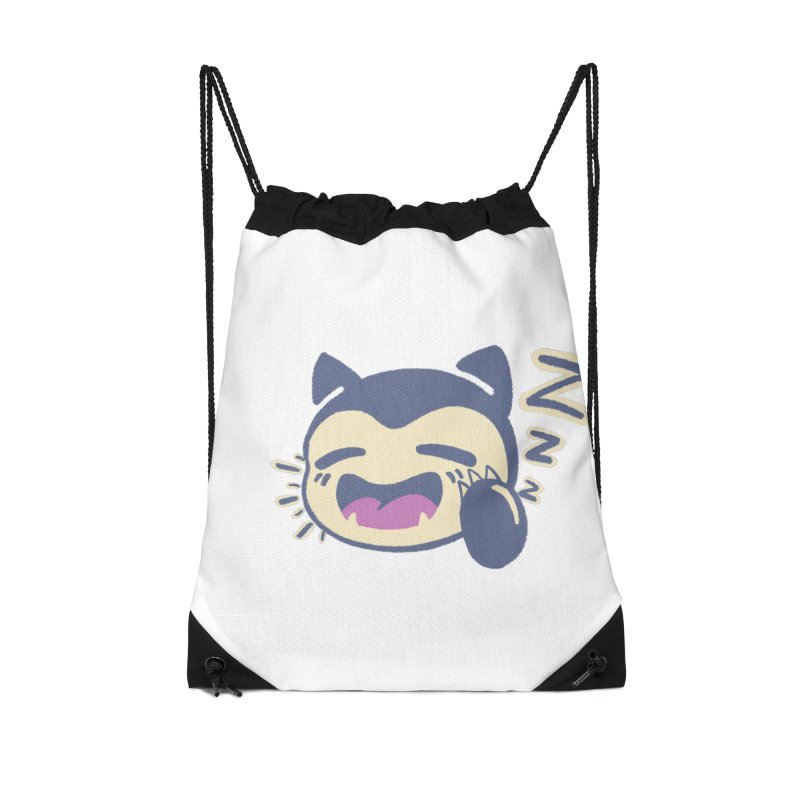 Sleepy Snorlax Accessories Drawstring Bag Bag by jaredslyterdesign's Artist Shop