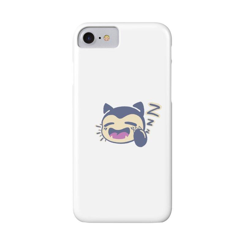 Sleepy Snorlax Accessories Phone Case by jaredslyterdesign's Artist Shop