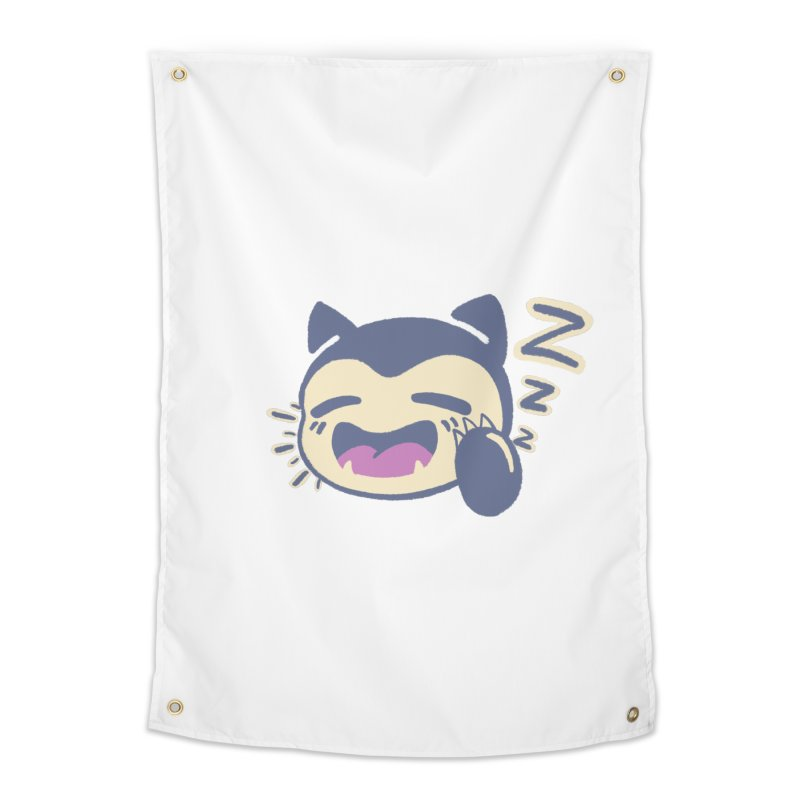 Sleepy Snorlax Home Tapestry by jaredslyterdesign's Artist Shop