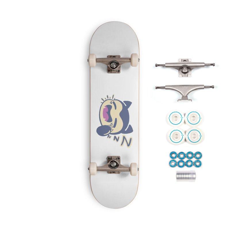Sleepy Snorlax Accessories Complete - Basic Skateboard by jaredslyterdesign's Artist Shop