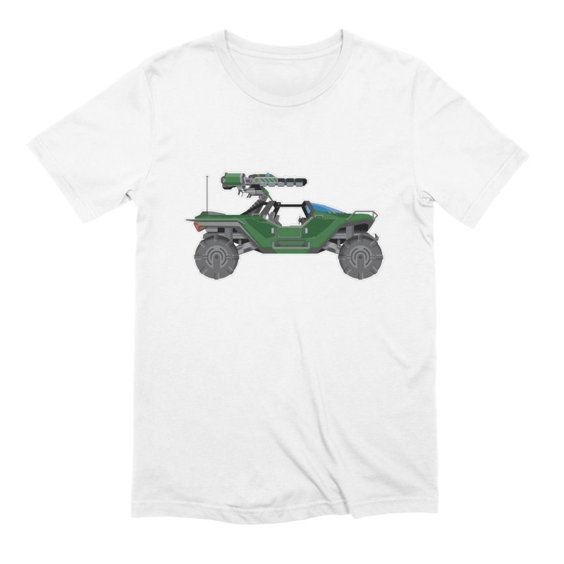 The Ultimate Ride: Halo Master Chief Warthog Men's Extra Soft T-Shirt by jaredslyterdesign's Artist Shop