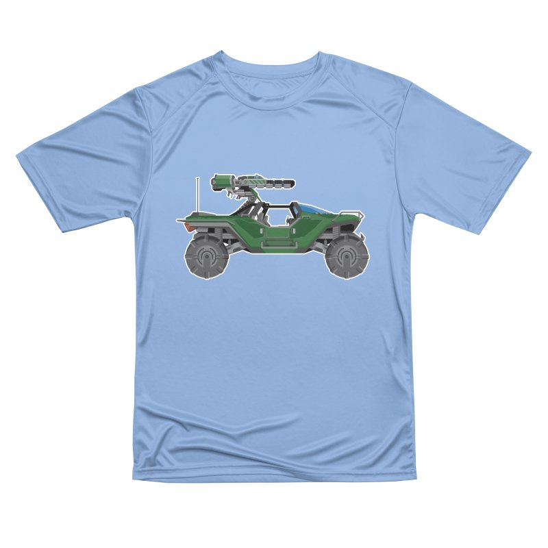 The Ultimate Ride: Halo Master Chief Warthog Men's T-Shirt by jaredslyterdesign's Artist Shop