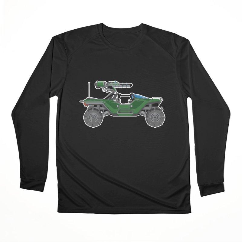 The Ultimate Ride: Halo Master Chief Warthog Men's Performance Longsleeve T-Shirt by jaredslyterdesign's Artist Shop