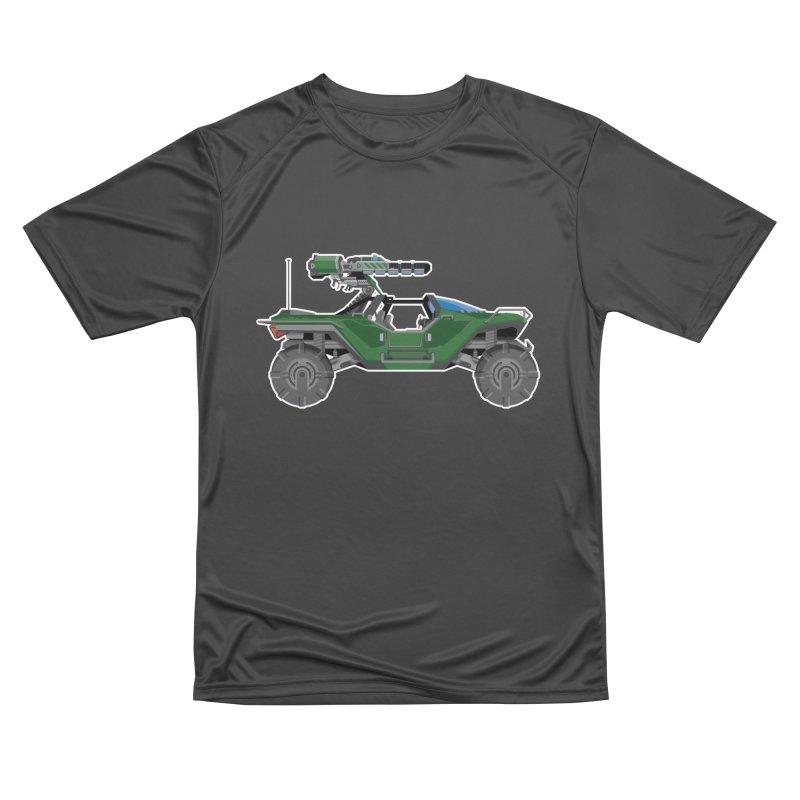 The Ultimate Ride: Halo Master Chief Warthog Men's T-Shirt by jaredslyterdesign's Artist Shop