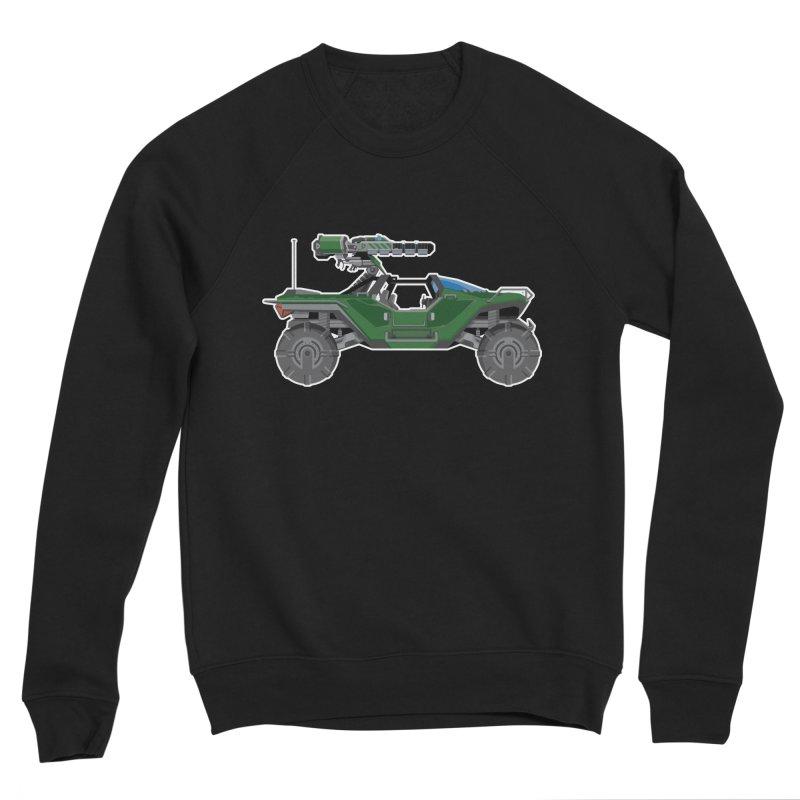 The Ultimate Ride: Halo Master Chief Warthog Men's Sponge Fleece Sweatshirt by jaredslyterdesign's Artist Shop