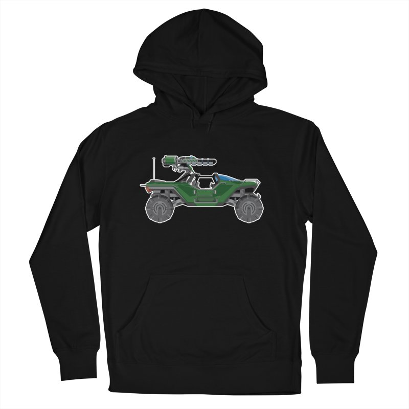 The Ultimate Ride: Halo Master Chief Warthog Men's French Terry Pullover Hoody by jaredslyterdesign's Artist Shop