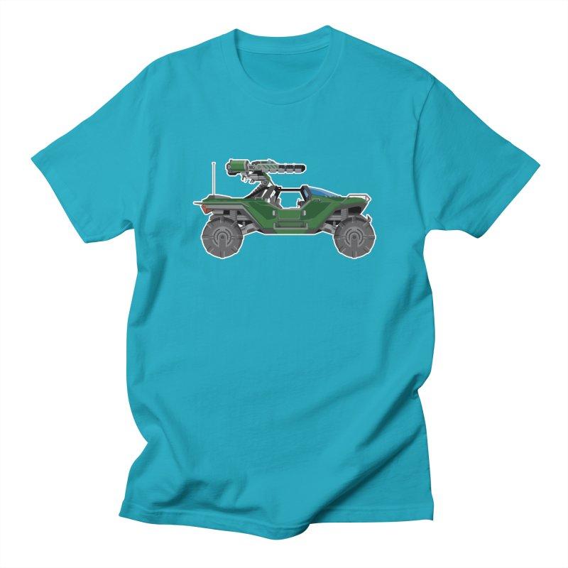 The Ultimate Ride: Halo Master Chief Warthog Men's Regular T-Shirt by jaredslyterdesign's Artist Shop