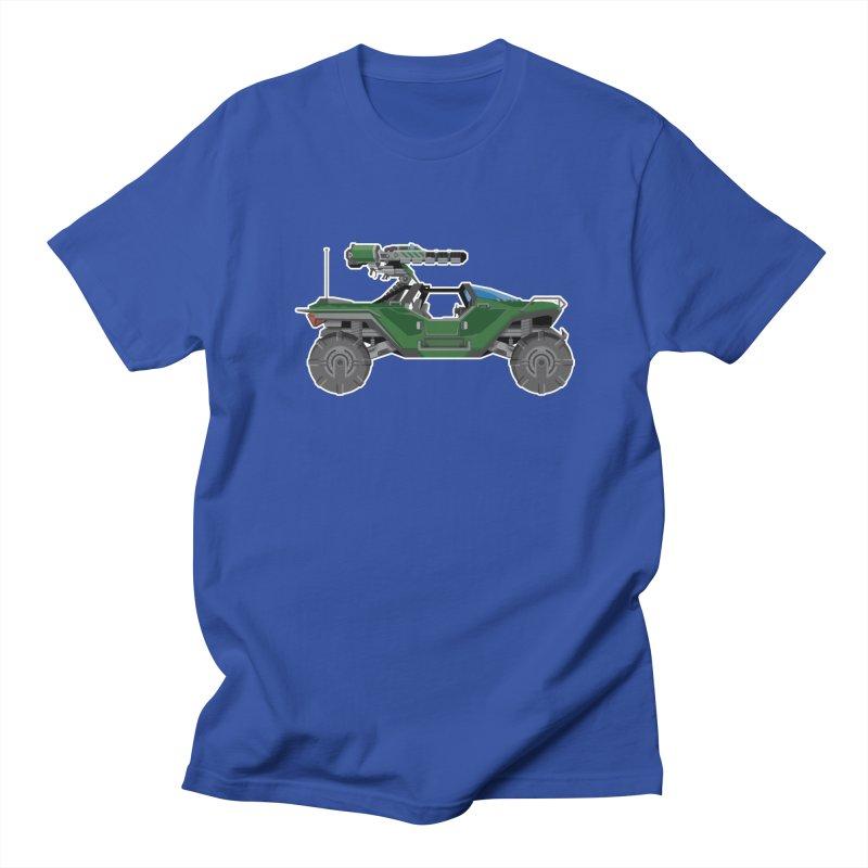 The Ultimate Ride: Halo Master Chief Warthog Women's Regular Unisex T-Shirt by jaredslyterdesign's Artist Shop