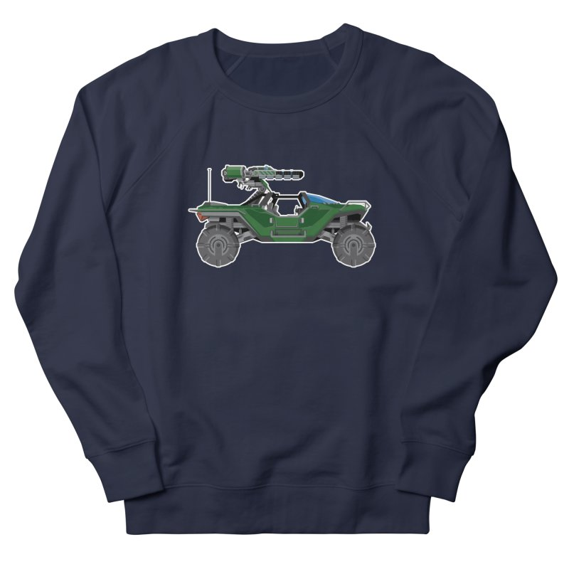 The Ultimate Ride: Halo Master Chief Warthog Men's French Terry Sweatshirt by jaredslyterdesign's Artist Shop