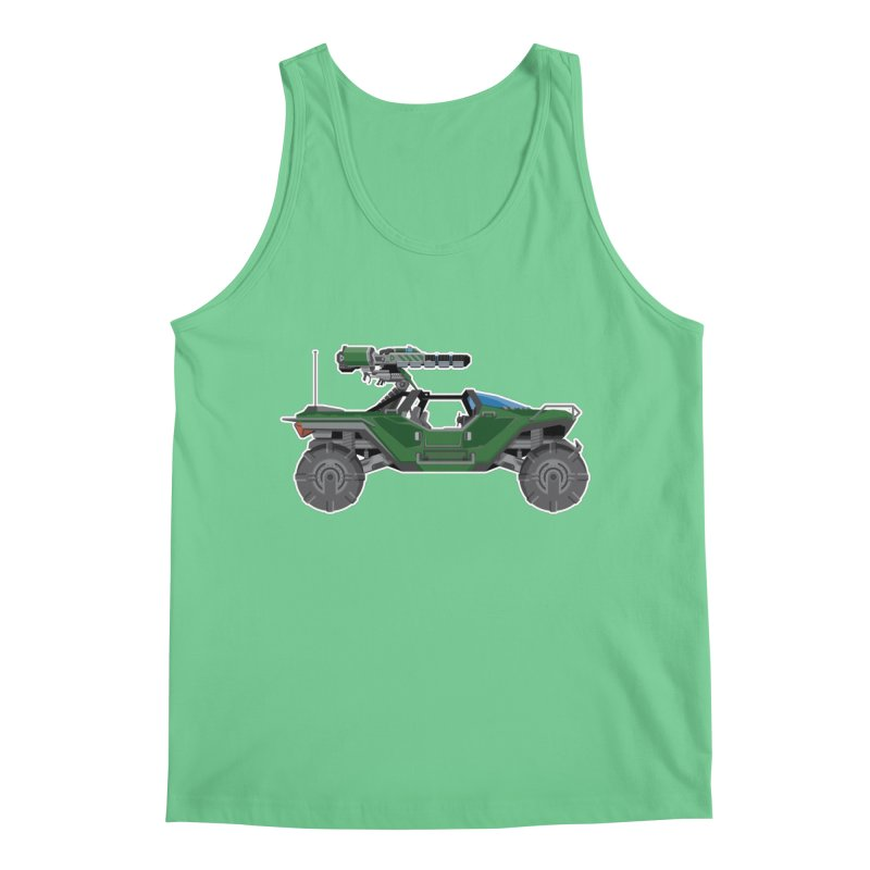 The Ultimate Ride: Halo Master Chief Warthog Men's Regular Tank by jaredslyterdesign's Artist Shop