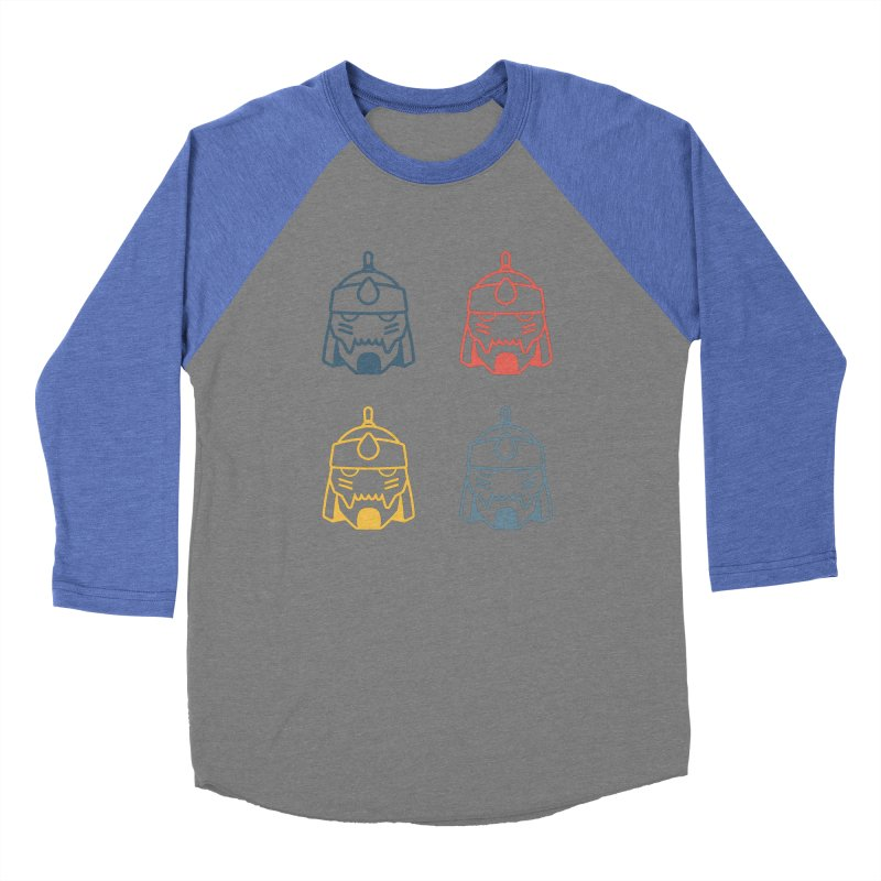Alphonse: Fullmetal Alchemist Pop Art Edition Men's Baseball Triblend Longsleeve T-Shirt by jaredslyterdesign's Artist Shop