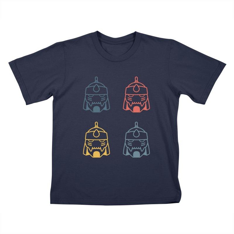 Alphonse: Fullmetal Alchemist Pop Art Edition Kids T-Shirt by jaredslyterdesign's Artist Shop