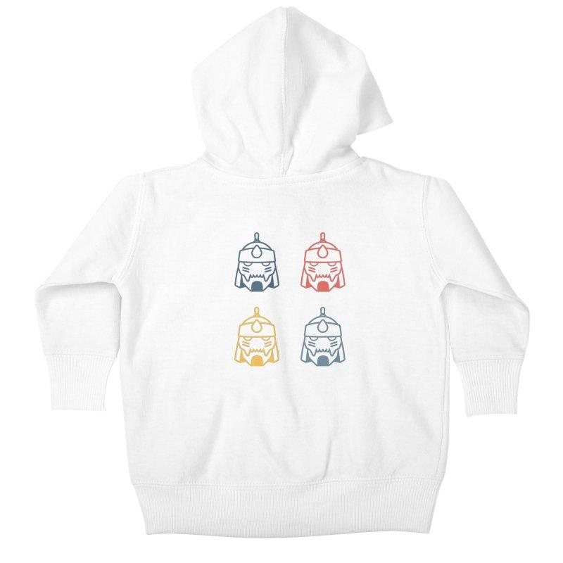 Alphonse: Fullmetal Alchemist Pop Art Edition Kids Baby Zip-Up Hoody by jaredslyterdesign's Artist Shop