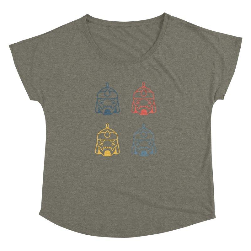 Alphonse: Fullmetal Alchemist Pop Art Edition Women's Dolman Scoop Neck by jaredslyterdesign's Artist Shop