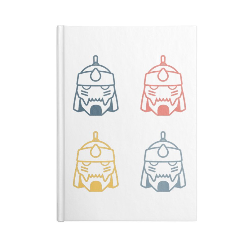 Alphonse: Fullmetal Alchemist Pop Art Edition Accessories Blank Journal Notebook by jaredslyterdesign's Artist Shop