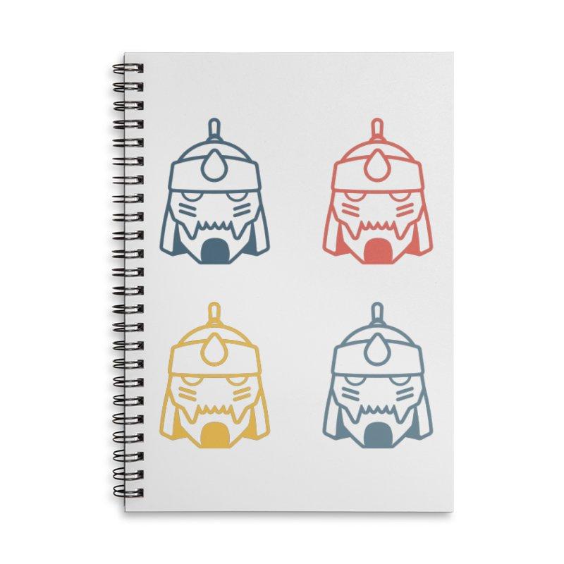 Alphonse: Fullmetal Alchemist Pop Art Edition Accessories Lined Spiral Notebook by jaredslyterdesign's Artist Shop