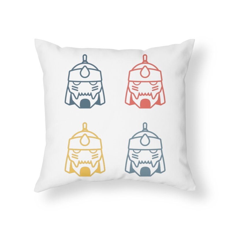 Alphonse: Fullmetal Alchemist Pop Art Edition Home Throw Pillow by jaredslyterdesign's Artist Shop