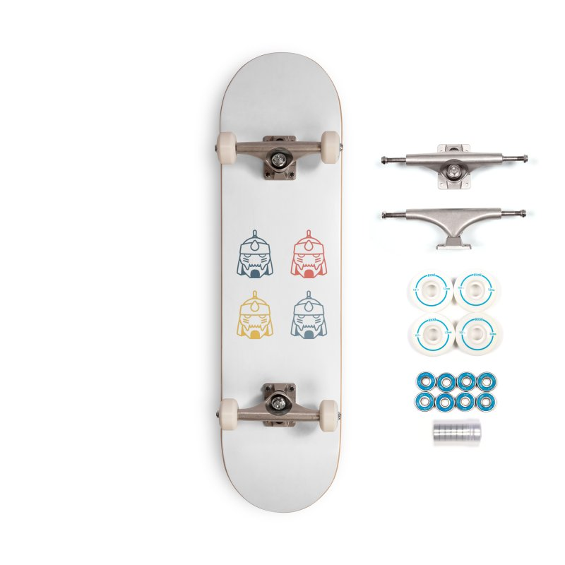 Alphonse: Fullmetal Alchemist Pop Art Edition Accessories Complete - Basic Skateboard by jaredslyterdesign's Artist Shop