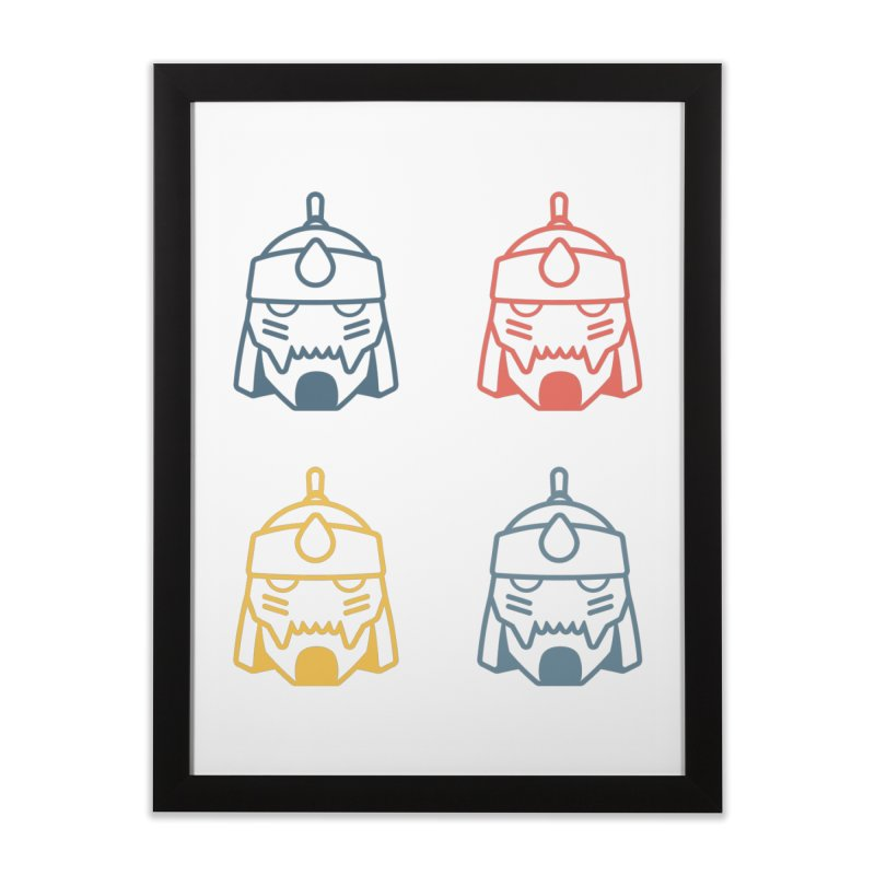 Alphonse: Fullmetal Alchemist Pop Art Edition Home Framed Fine Art Print by jaredslyterdesign's Artist Shop