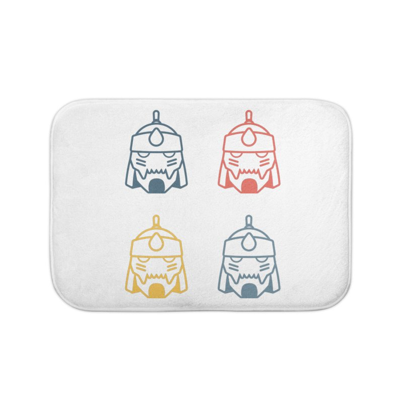 Alphonse: Fullmetal Alchemist Pop Art Edition Home Bath Mat by jaredslyterdesign's Artist Shop