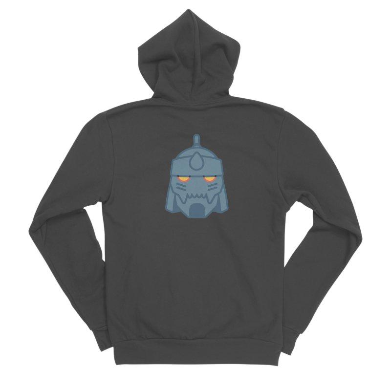Alphonse: Fullmetal Alchemist Brotherhood Men's Sponge Fleece Zip-Up Hoody by jaredslyterdesign's Artist Shop