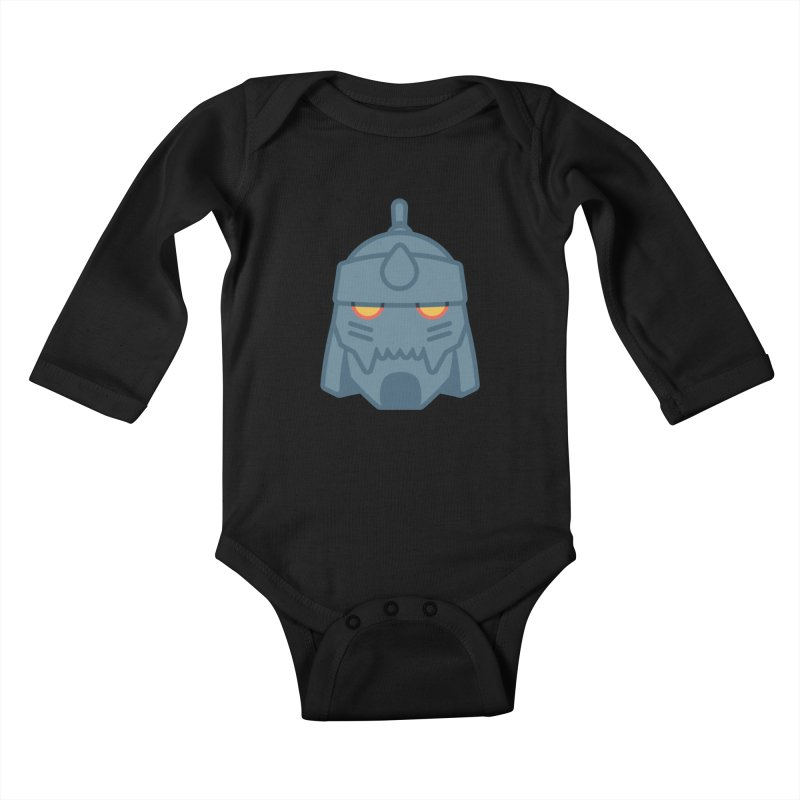 Alphonse: Fullmetal Alchemist Brotherhood Kids Baby Longsleeve Bodysuit by jaredslyterdesign's Artist Shop