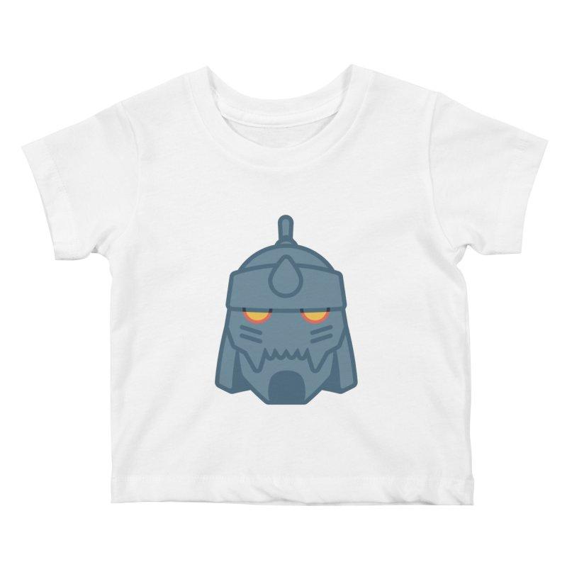 Alphonse: Fullmetal Alchemist Brotherhood Kids Baby T-Shirt by jaredslyterdesign's Artist Shop