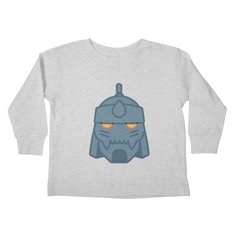 Alphonse: Fullmetal Alchemist Brotherhood Kids Toddler Longsleeve T-Shirt by jaredslyterdesign's Artist Shop