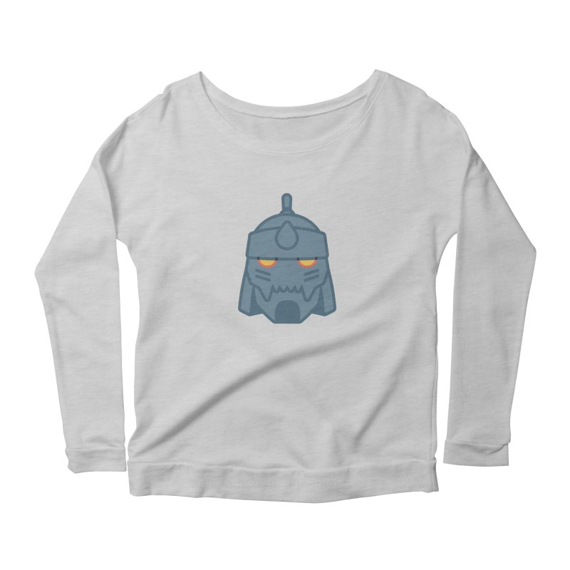 Alphonse: Fullmetal Alchemist Brotherhood Women's Scoop Neck Longsleeve T-Shirt by jaredslyterdesign's Artist Shop