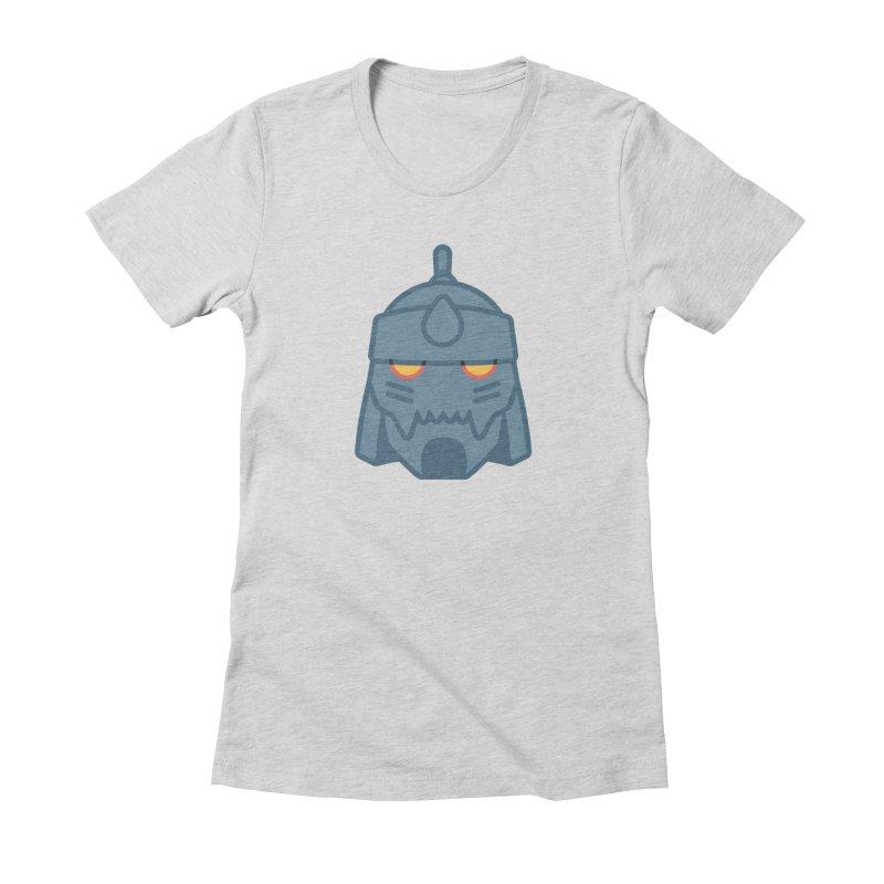 Alphonse: Fullmetal Alchemist Brotherhood Women's Fitted T-Shirt by jaredslyterdesign's Artist Shop