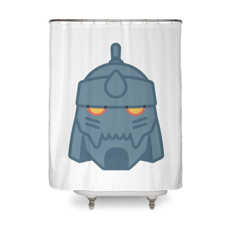 Alphonse: Fullmetal Alchemist Brotherhood Home Shower Curtain by jaredslyterdesign's Artist Shop