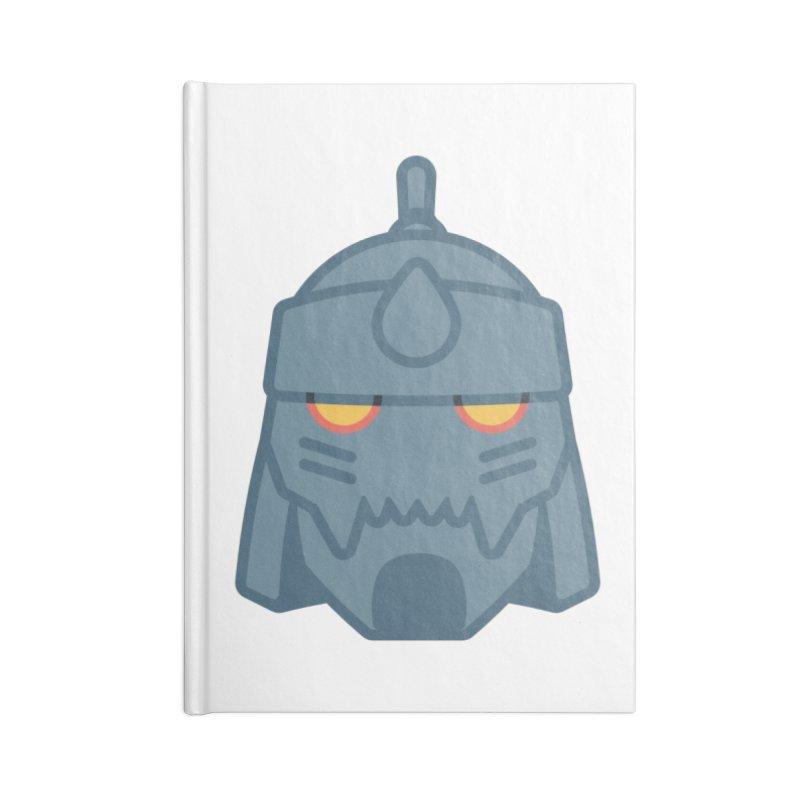 Alphonse: Fullmetal Alchemist Brotherhood Accessories Lined Journal Notebook by jaredslyterdesign's Artist Shop