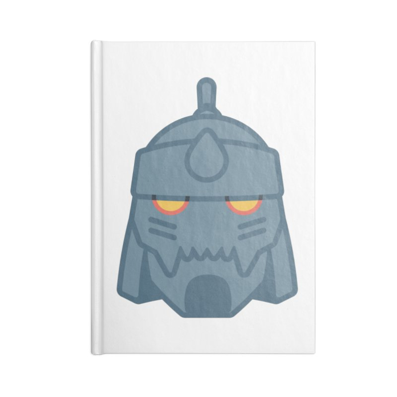 Alphonse: Fullmetal Alchemist Brotherhood Accessories Blank Journal Notebook by jaredslyterdesign's Artist Shop