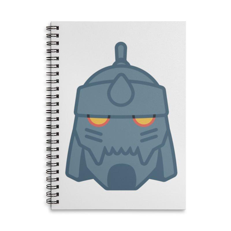 Alphonse: Fullmetal Alchemist Brotherhood Accessories Lined Spiral Notebook by jaredslyterdesign's Artist Shop