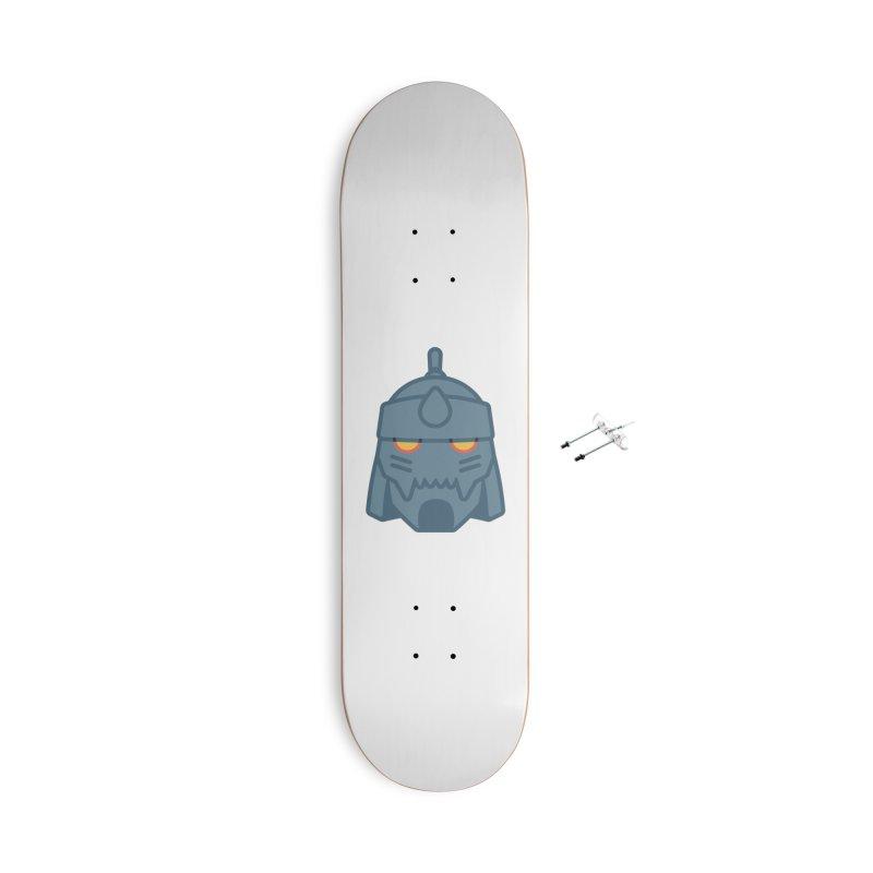 Alphonse: Fullmetal Alchemist Brotherhood Accessories Skateboard by jaredslyterdesign's Artist Shop