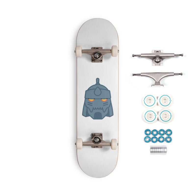 Alphonse: Fullmetal Alchemist Brotherhood Accessories Complete - Basic Skateboard by jaredslyterdesign's Artist Shop