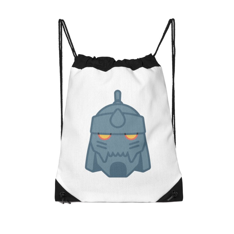 Alphonse: Fullmetal Alchemist Brotherhood Accessories Drawstring Bag Bag by jaredslyterdesign's Artist Shop
