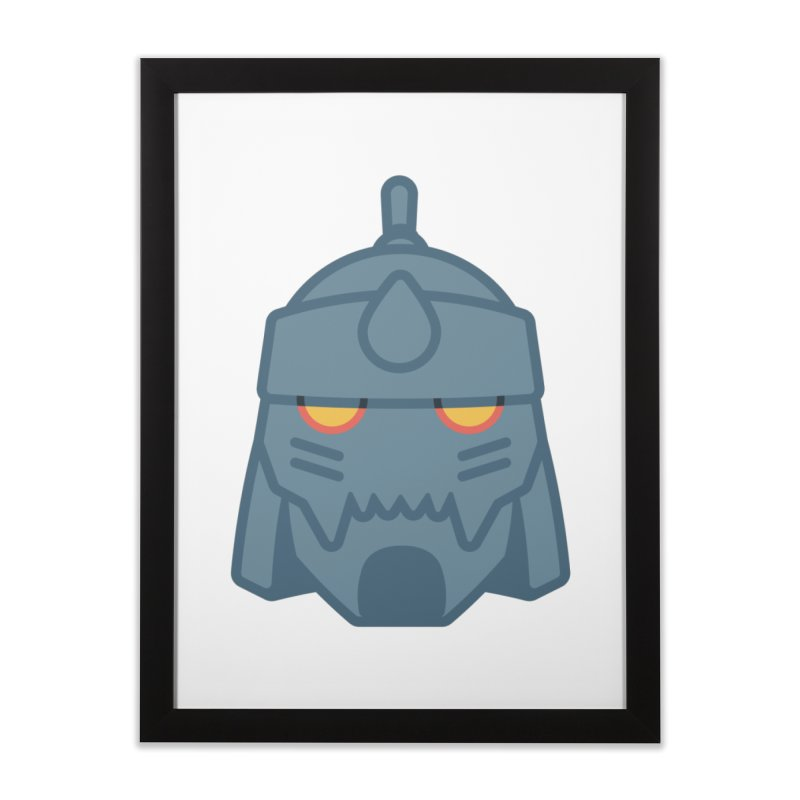 Alphonse: Fullmetal Alchemist Brotherhood Home Framed Fine Art Print by jaredslyterdesign's Artist Shop