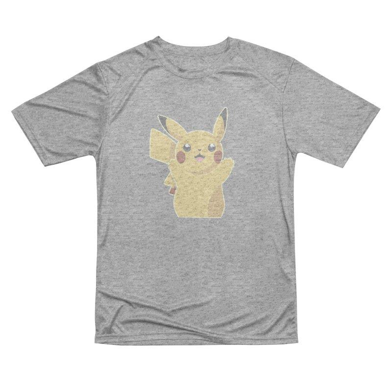 Let's Go Pikachu Pokemon Men's Performance T-Shirt by jaredslyterdesign's Artist Shop