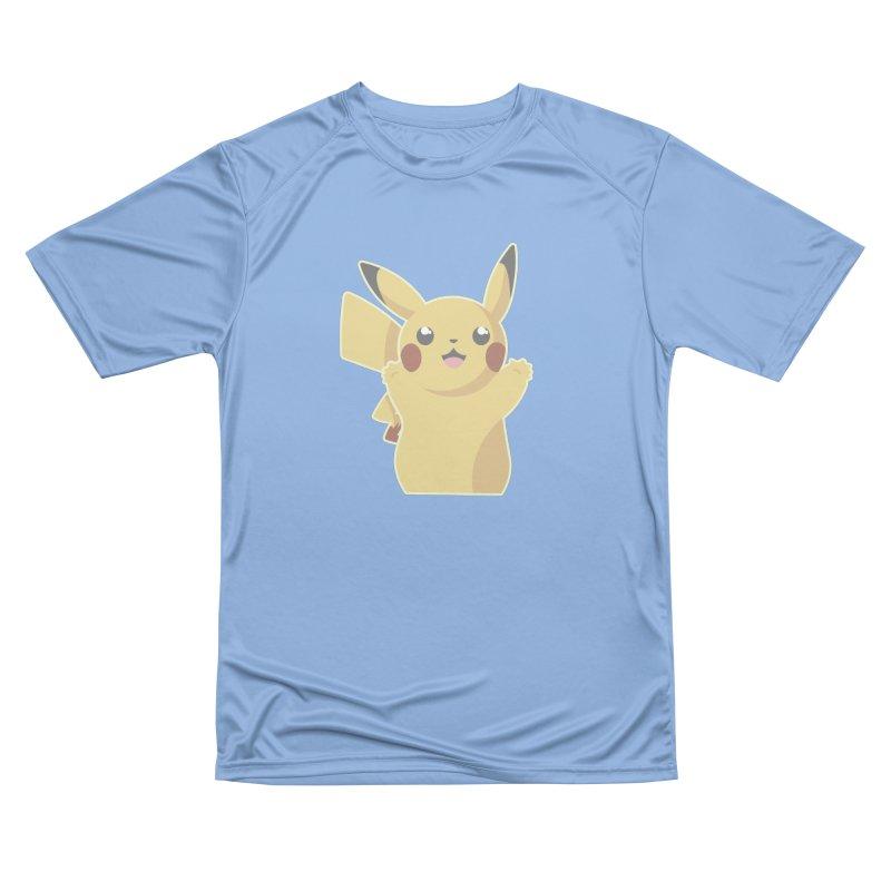 Let's Go Pikachu Pokemon Men's T-Shirt by jaredslyterdesign's Artist Shop