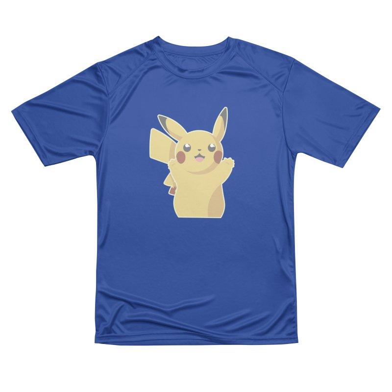 Let's Go Pikachu Pokemon Women's Performance Unisex T-Shirt by jaredslyterdesign's Artist Shop