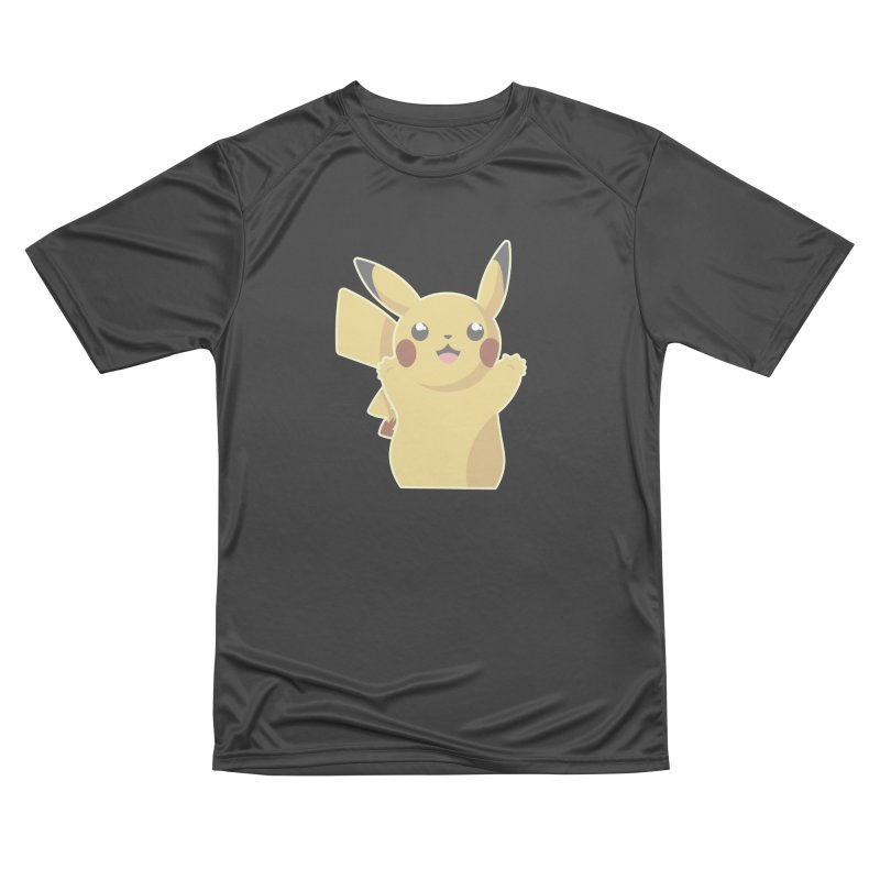 Let's Go Pikachu Pokemon Women's Performance Unisex T-Shirt by jaredslyterdesign's Artist Shop