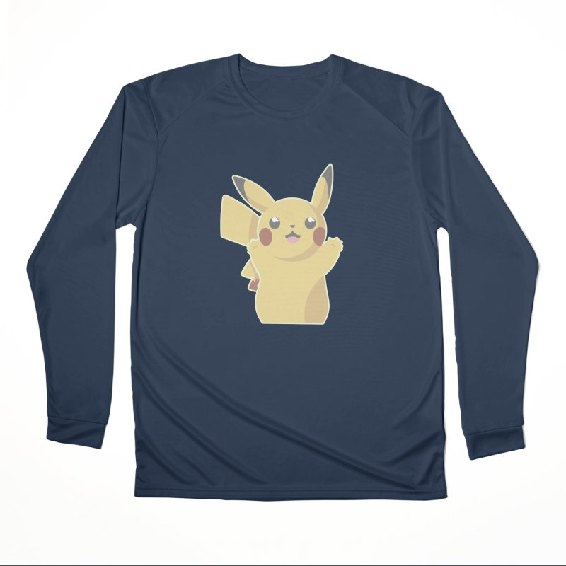 Let's Go Pikachu Pokemon Women's Performance Unisex Longsleeve T-Shirt by jaredslyterdesign's Artist Shop
