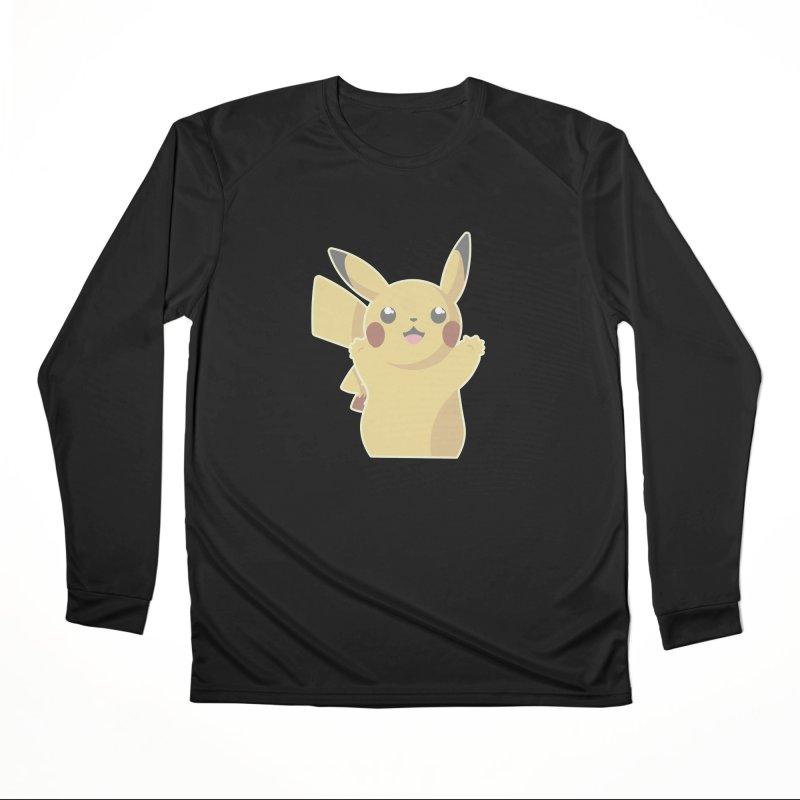 Let's Go Pikachu Pokemon Men's Performance Longsleeve T-Shirt by jaredslyterdesign's Artist Shop