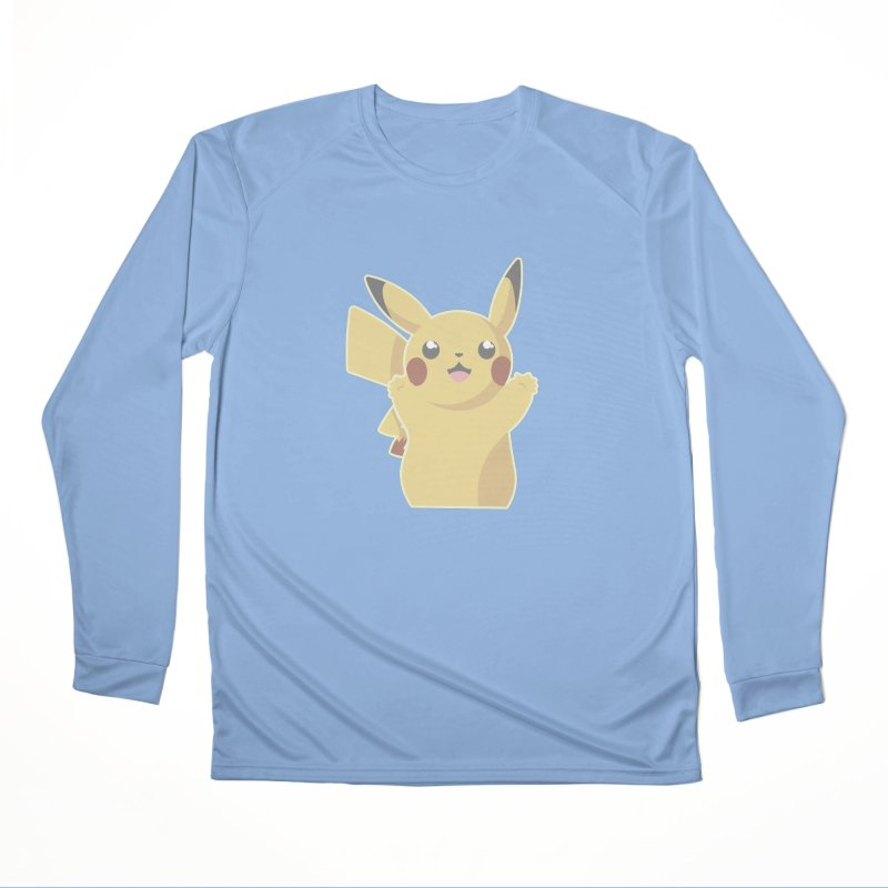 Let's Go Pikachu Pokemon Women's Performance Unisex Longsleeve T-Shirt by jaredslyterdesign's Artist Shop